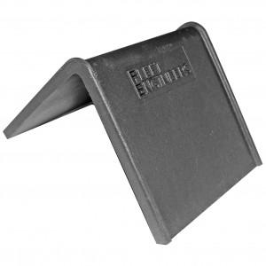 Black plastic corner protector