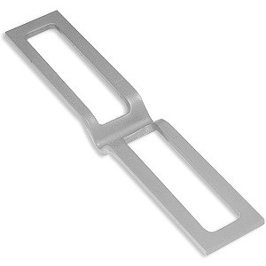 Latch Plate for Recessed 1 Roller Doors