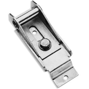 Top Fixture Bracket Assembly for Recessed 1 Roller Door