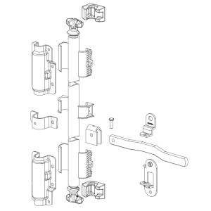 Wide Lock Rod Assembly