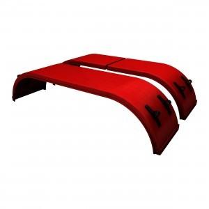 SM dbl raid NO slidetrax hardw red pair0000